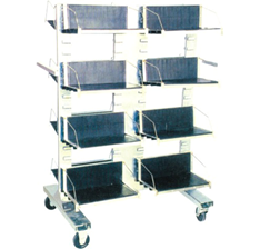 Антистатическая  тележка  DOKA-CC-622 ESD для печатных плат
